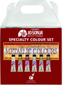 Jo Sonja Paint Metallic Color Set