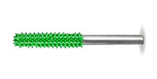 "Saburr Tooth Cylinder 1/8"" - coarse grit."