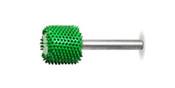 "Saburr Tooth Cylinder 1/2"" Radius End  - coarse grit"
