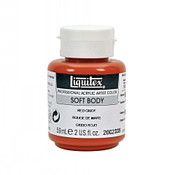 Liquitex Soft Body -  Red Oxide