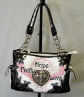 Hope, Faith & Love, Classy and Stylish Purse.