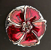 Red Crystal Flower