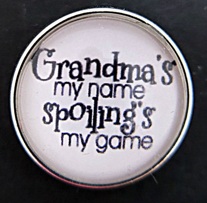 Grandma's my name  Spoiling's my game
