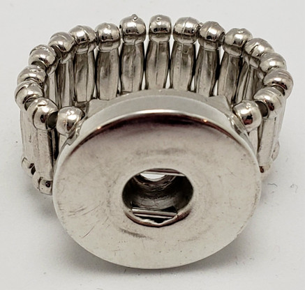 Metal Snap Stretch Ring