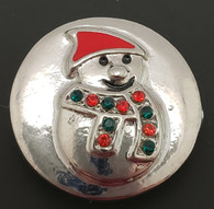 Snowman w/Crystal accents