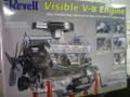 8883 Visible V-8 1/4 Scale