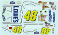 #48 Kobalt/Lowes 2007 Jimmie Johnson