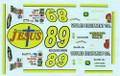 #89 Racing With Jesus 2004 Morgan Shepherd