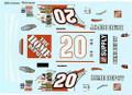 #20 Home Depot reverse 2004 Tony Stewart