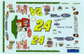 #24 DuPont/Peanuts 2000 Jeff Gordon