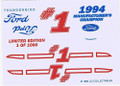 #1 Ford/1994 Manufacturers Champion 1994
