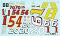 1929 K Number Sheet