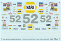 9352 #52 NAPA 1993 Jimmy Means