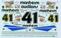 9341 #41 Manheim Auctions 1993 Dick Trickle