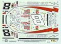 1307 #8 Circuit City 1998 Hut Stricklin