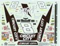 1264 #8 Circuit City 1997 Hut Stricklin
