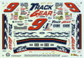 1227s #9 Track Gear 1997 Jeff Burton