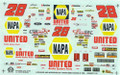 1161 #28 NAPA United truck 1995 Ernie Irvan