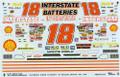 1075 #18 Interstate 1995 Bobby Labonte
