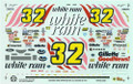 1228 #32 White Rain 1997 Dale Jarrett