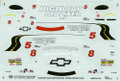 1124 #5/#8 Highway Masters Camaro Trans Am Paul Gentilozzi Bill Saunders