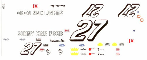 Sunny King Ford >> 621 27 Sunny King Ford 1969 Donnie Allison Southern Motorsport