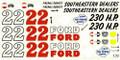 135 #22 Southeastern Dealers 1956 Fireball Roberts