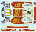 #91 McDonalds 2005 Bill Elliott