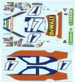 #17 USG Sheetrock 2005 Matt Kenseth