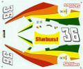 #36 Skittles 1997-98 Derrike Cope