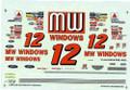 #12 MW Windows 1996 Michael Waltrip