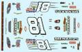 #81 Menards 2004 Monte Carlo Dale Earnhardt Jr