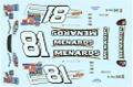 #81 Menards 2005 Monte Carlo Dale Earnhardt Jr