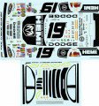 #19 Hemi 2004 Dodge Jeremy Mayfield