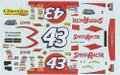 #43 Speed Racer 2008 Bobby Labonte