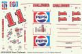 #11 Pepsi Challenger 1983 Monte Carlo Darrell Waltrip