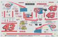"""1129 #43 STP """"Daytona 500"""" 1996 Bobby Hamilton"""