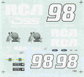 #98 RCA 1995 Jeremy Mayfield