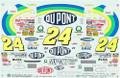 #24 DuPont 1997 Jeff Gordon