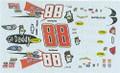 #88 Go Daddy.com 2009 Brad Keselowski