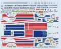 7025 Glidden & Allen Stars & Stripes Pinto P/S Bob Glidden