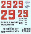 #29 Peter Troost Monuments 1957 Tom Pistone