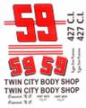 #59 Twin City Body Shop 1964 Tom Pistone