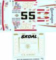#55 Copenhagen/Skoal 1986-87 Benny Parsons Phil Parsons