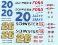 #20/#26 Schwister Ford 1962 Fred Lorenzen Curtis Turner