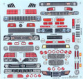 7160 Funny Car Grill Sheet 1/16