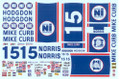 #15 Hodgdon/Mike Curb/Norris 1978-80 Bobby Allison