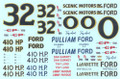 #0/#32 Lafayette Ford/Pulliam Ford/Scenic Motors Ford 1963-64 Dan Gurney-Tiny Lund-Jimmy Pardue