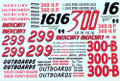 #16/#299/#300/#300B Mercury Outboards Chrysler 300