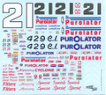 #21 Purolator 1971-73 Donie Allison AJ Foyt David Pearson